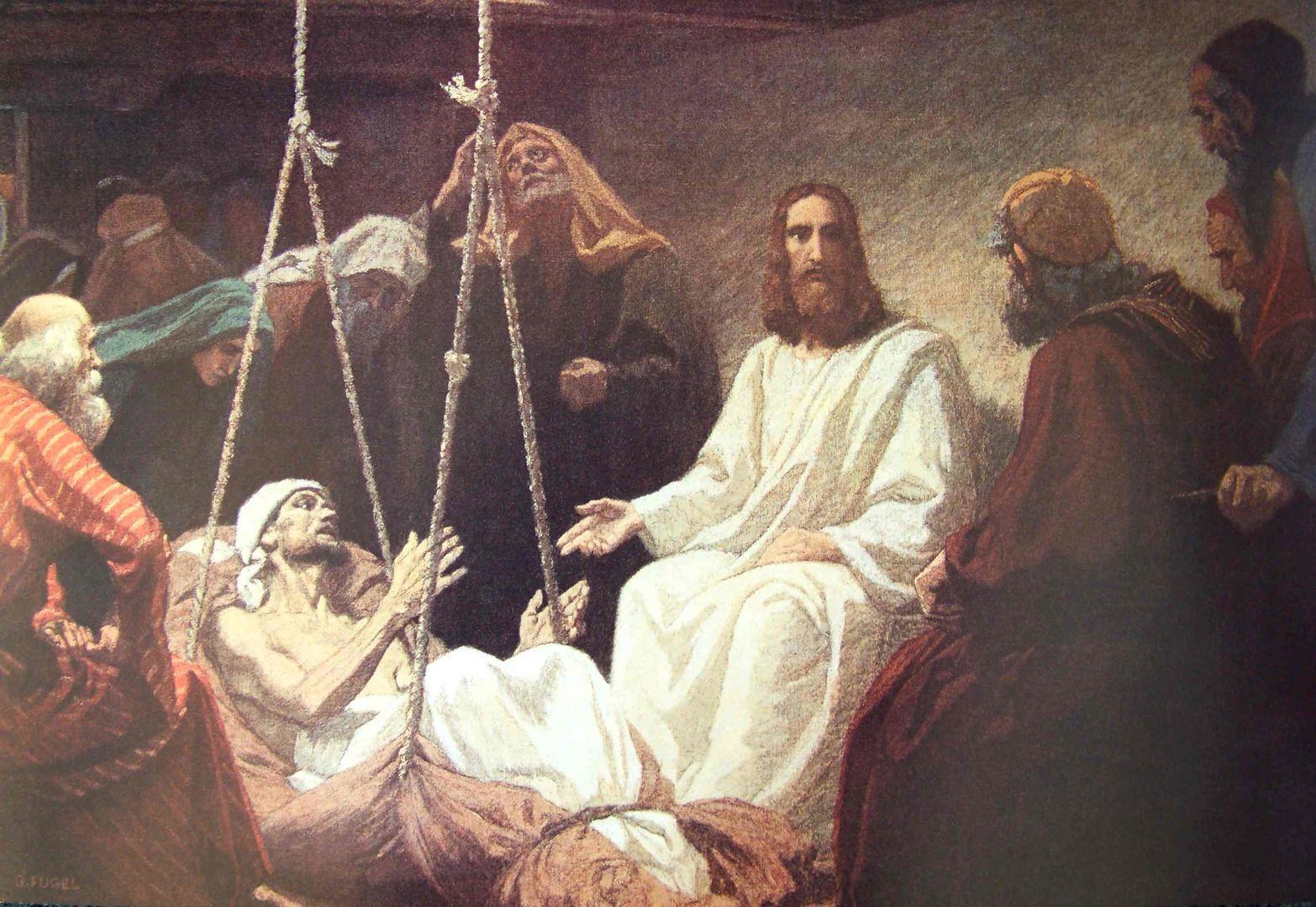 Tolle Malvorlagen Von Jesus Heilen Die Kranken Fotos - Entry Level ...